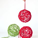 How to make Magic Yarn Ornaments via @PagingSupermom