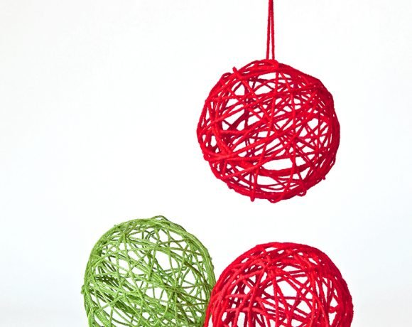 Magic Yarn Ornaments