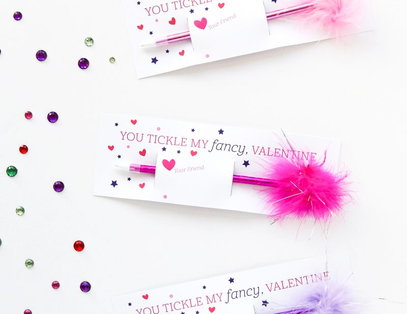 Girly Class Valentines Idea