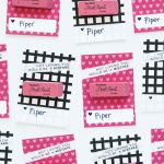 Pink Eraser Free Printable Valentine