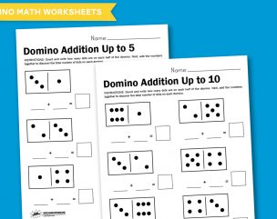Worksheet Wednesday: Domino Math