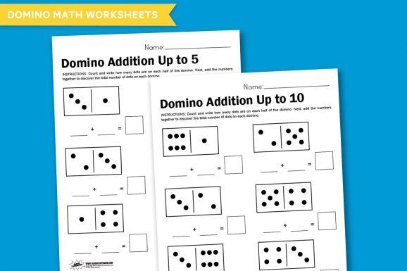 Printable-Domino-Math-Worksheets