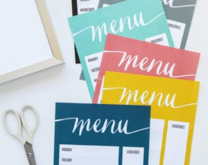 Free Printables for Meal Planning