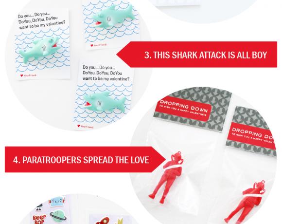 Seven Free Printable Valentines