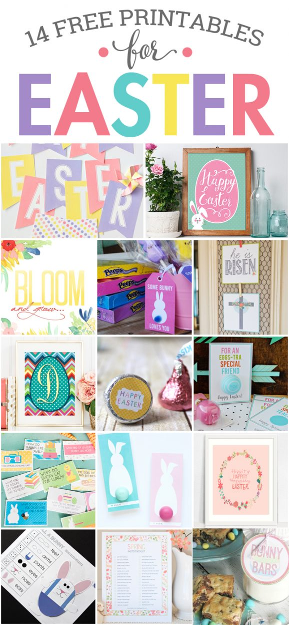 14 Free Easter Printables via @PagingSupermom