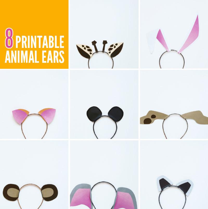 free printable animal ears with animal jam   paging supermom
