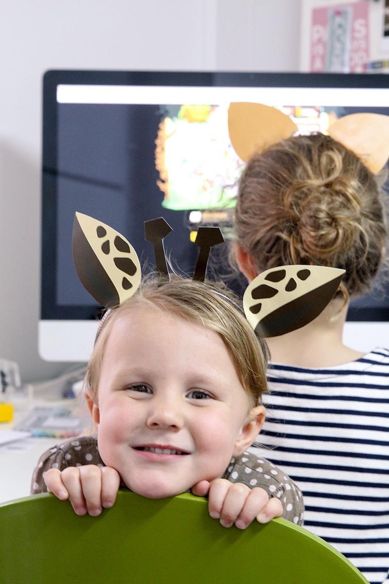 EIGHT Free Printable Animal Ears Templates via @PagingSupermom