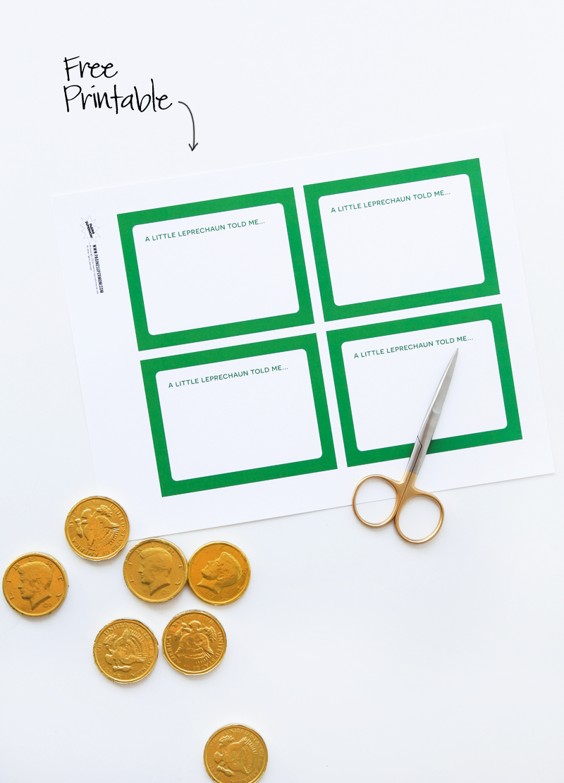 Free Printable St. Patrick's Day Cards