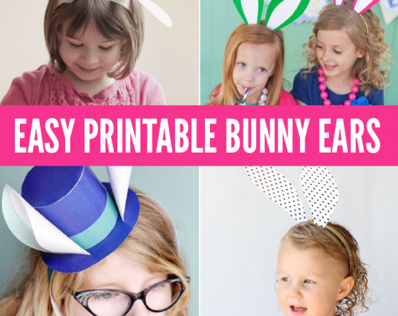 Our Favorite Printable Bunny Ears