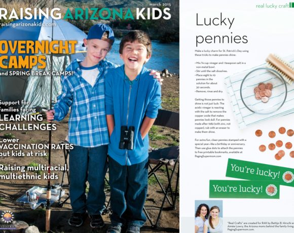 Lucky Penny Bookmarks