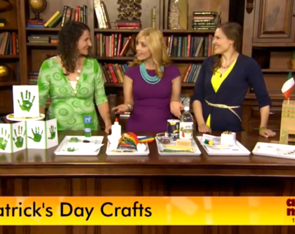 St. Patrick's Day Crafts on Arizona Midday