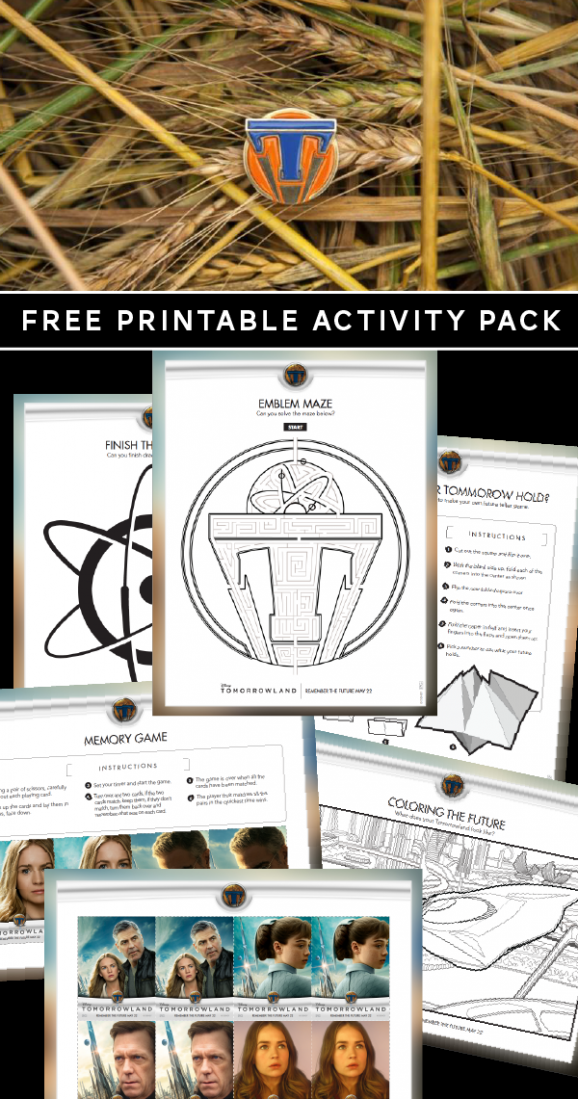 Free Printable Packet of activities for Tomorrowland movie via @PagingSupermom