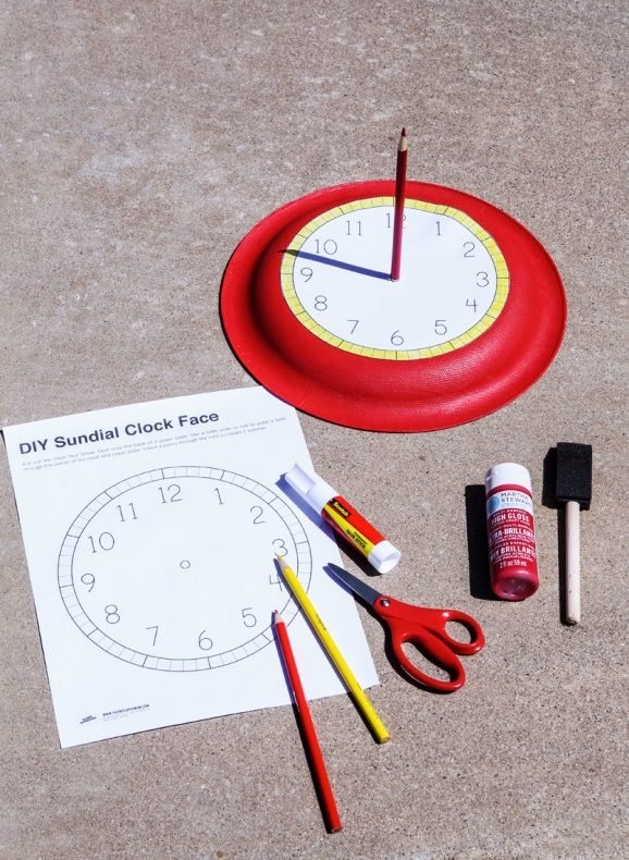 How to Make a Sundial + Summer Activities