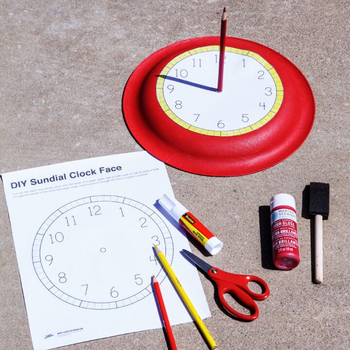 How To Make A Sun Dial