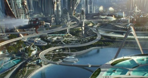 Review of Disney's Tomorrowland Movie from a Parent's point of view
