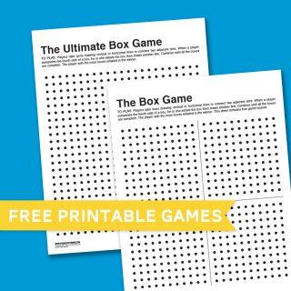 Box Game Boredom Buster