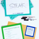 Do You Know Dad? Game - free printables from @PagingSupermom