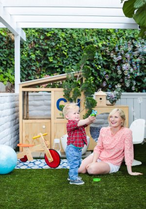 Love this Family-Friendly Deck Makeover by Emily Henderson