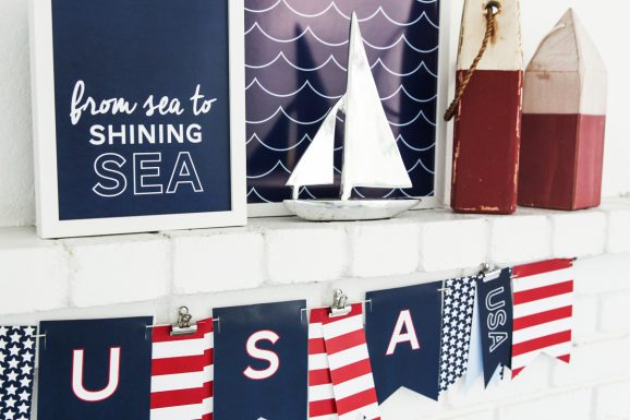 Sea to Shining Sea Printables