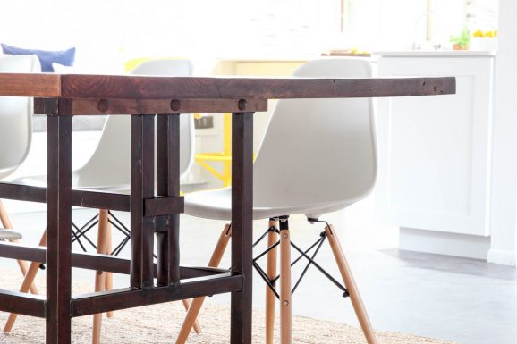 Bettijo's Urban Farmhouse Kitchen Table
