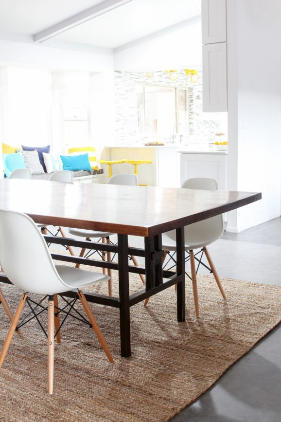 Bettijo's new Dining Room Table