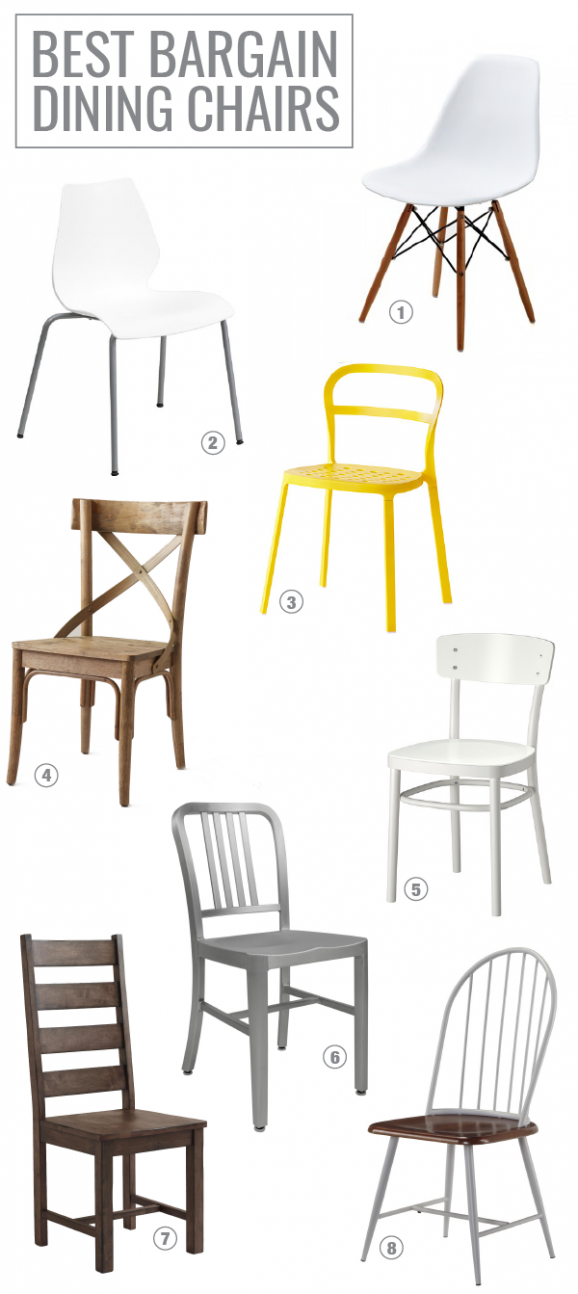 8 Favorite Bargain Dining Chairs via @PagingSupermom