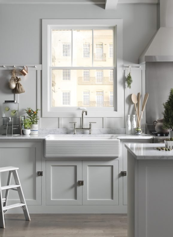 Farmhouse Sink Mounting Options : Gorgeous Whitehaven Sink from Kohler via @PagingSupermom