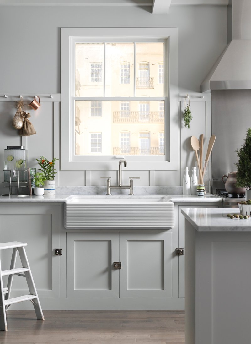 Gorgeous Whitehaven Sink from Kohler via @PagingSupermom
