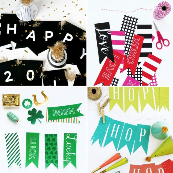 Free Printable Banners for EVERY Holiday from @PagingSupermom