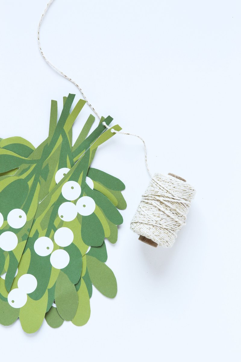 photo regarding Printable Mistletoe known as Produce an Basic Mistletoe Ball - Paging Supermom