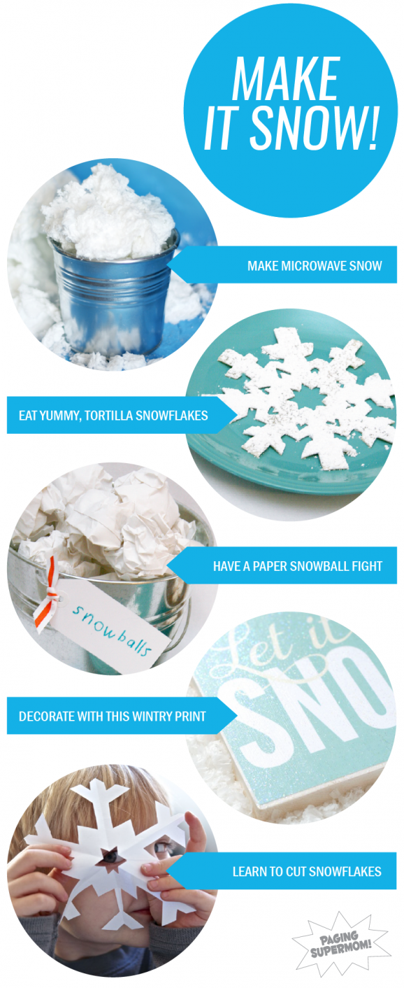Round Up of Snowy Fun from @PagingSupermom