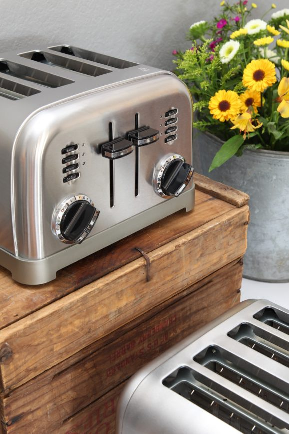 THE CUTEST Toaster from @Cuisinart + how to Host a Toast Bar via @PagingSupermom