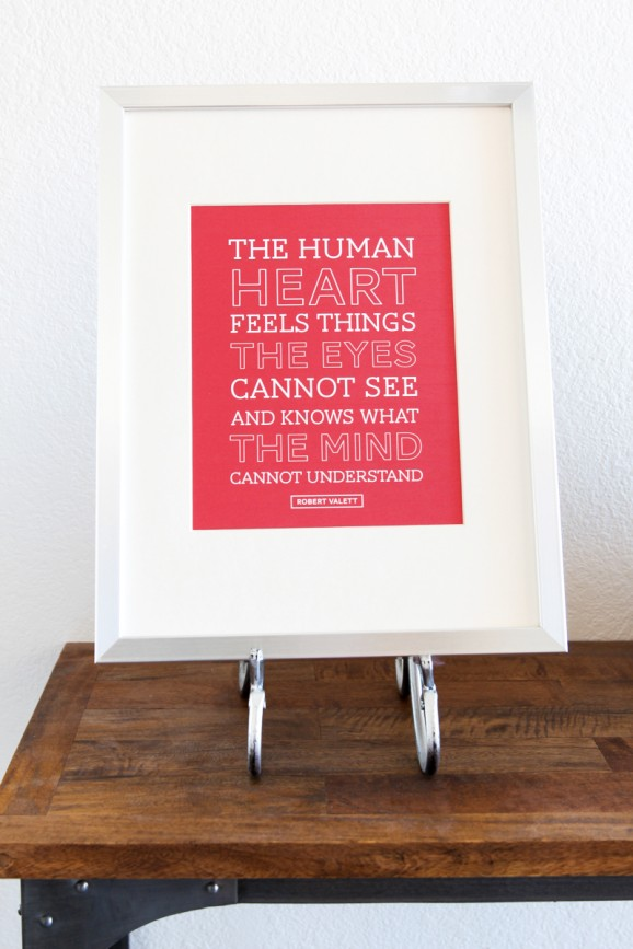 Human Heart Print 578x8671
