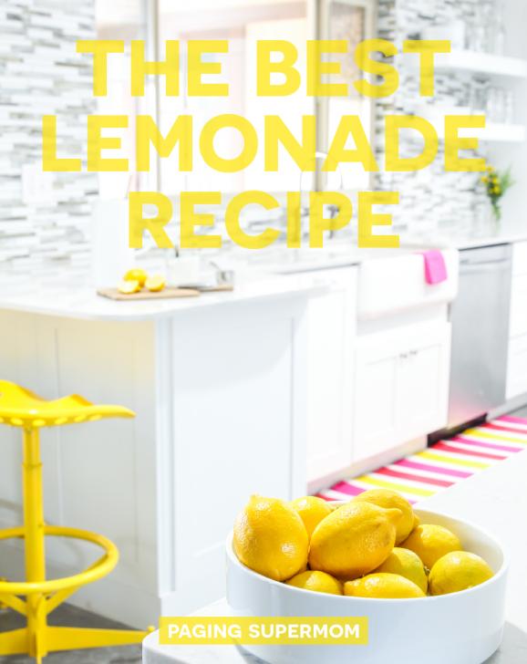 I want to try this Homemade Lemonade Recipe via @PagingSupermom