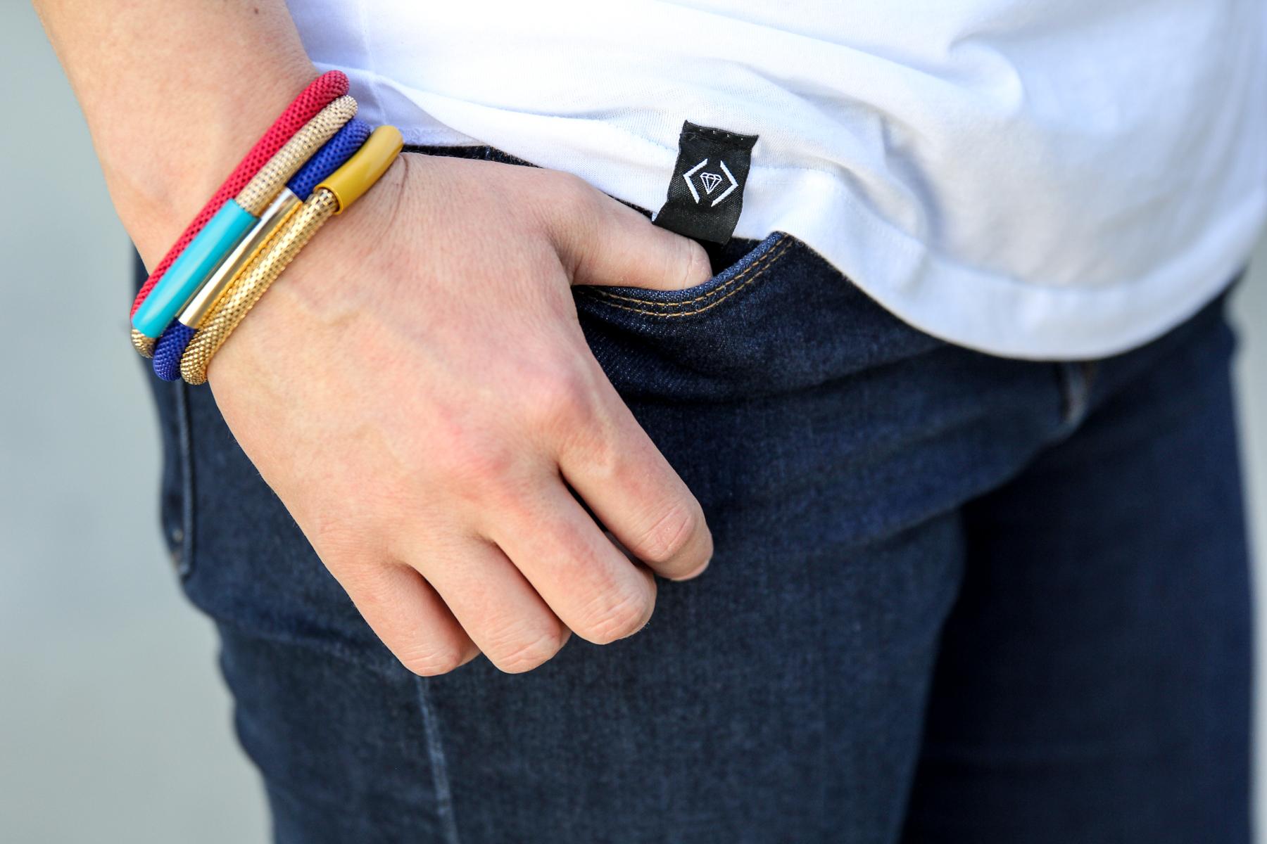 Cute pop-art inspired bracelets via @PagingSupermom