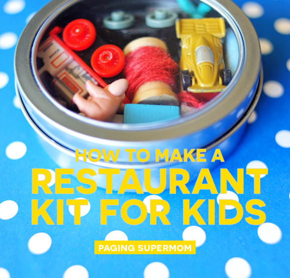 This is such a smart idea -- no more toys scattered around in my bag!
