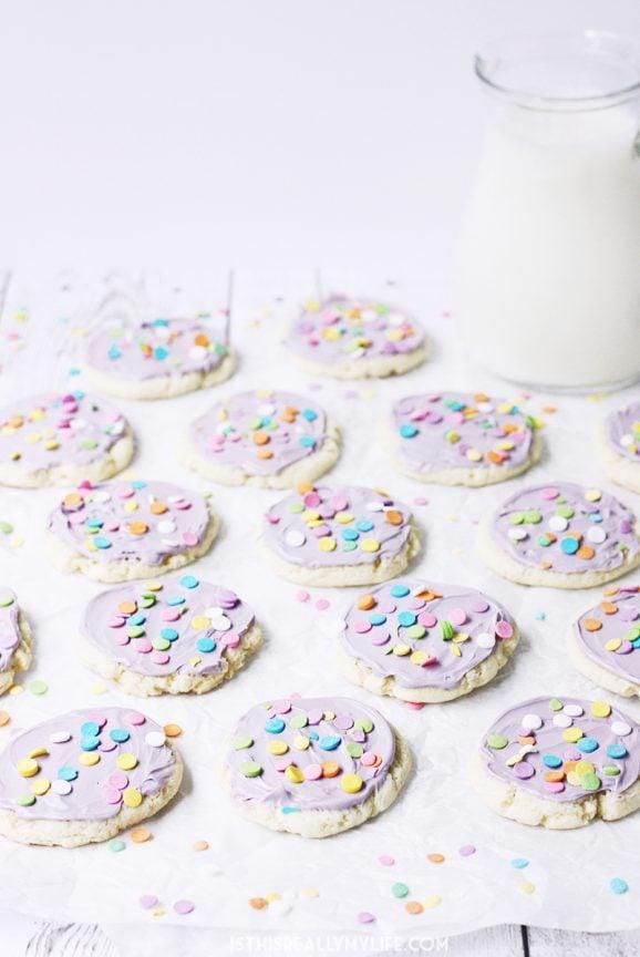Cream Cheese Cookie recipe via @PagingSupermom