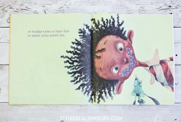 Books alive i like myself paging supermom one of the best illustrations features the main character with purple polka dotted lips that was the inspiration for the recipe im sharing today purple solutioingenieria Choice Image