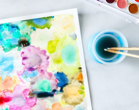 Tips for Watercoloring with Kids