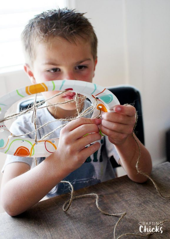 """Make a Web after reading """"The Very Hungry Spider"""" by Eric Carle #booksalive"""