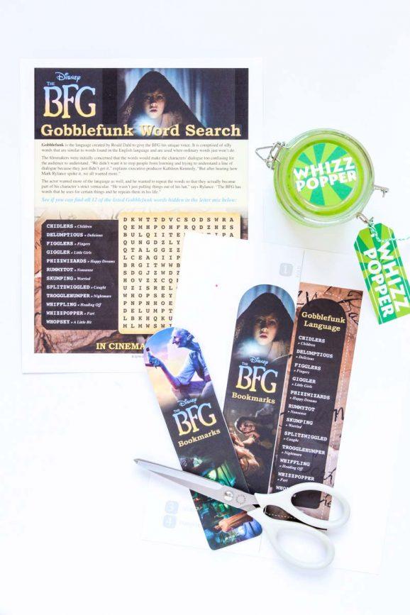 Free Printable BFG Packet via @PagingSupermom