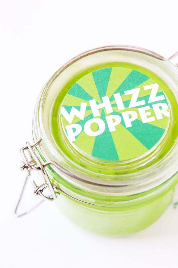 Roald Dahl's BFG Whizzpopper tag via @PagingSupermom