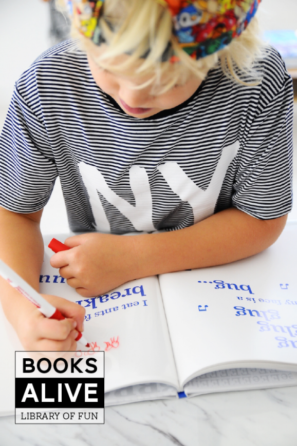 """Have Your Kids Illustrate the """"Book Without Pictures"""" #BooksAlive"""