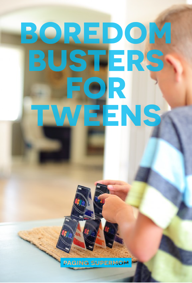 Boredom Busters for Tweens via @PagingSupermom