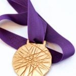 Make an Olympic Gold Medal via @PagingSupermom