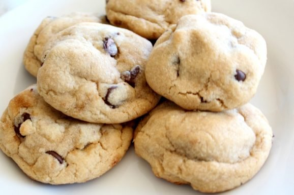 Large Personal Chocolate Chip Cookie
