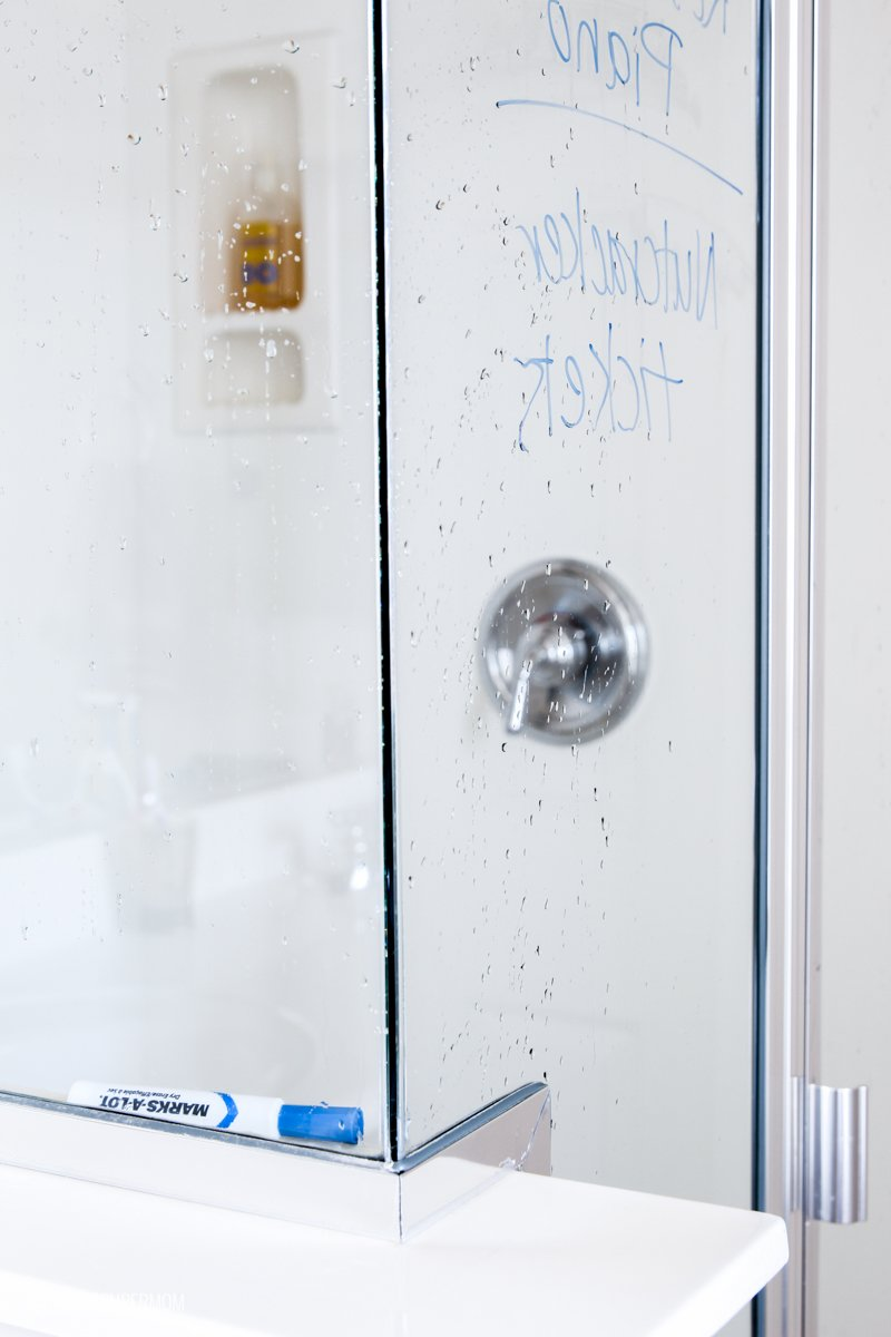 Here's how to capture all those GREAT IDEAS you get in the shower! via @PagingSupermom