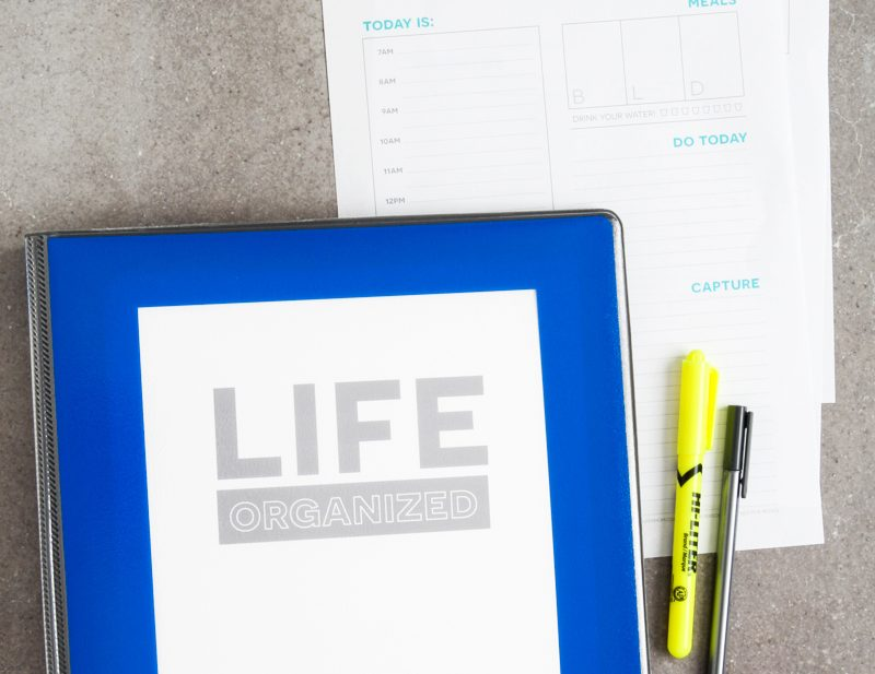 Organize, Declutter + Get Things Done