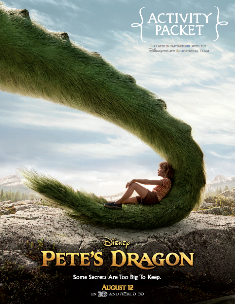 Pete's Dragon Educational Activities