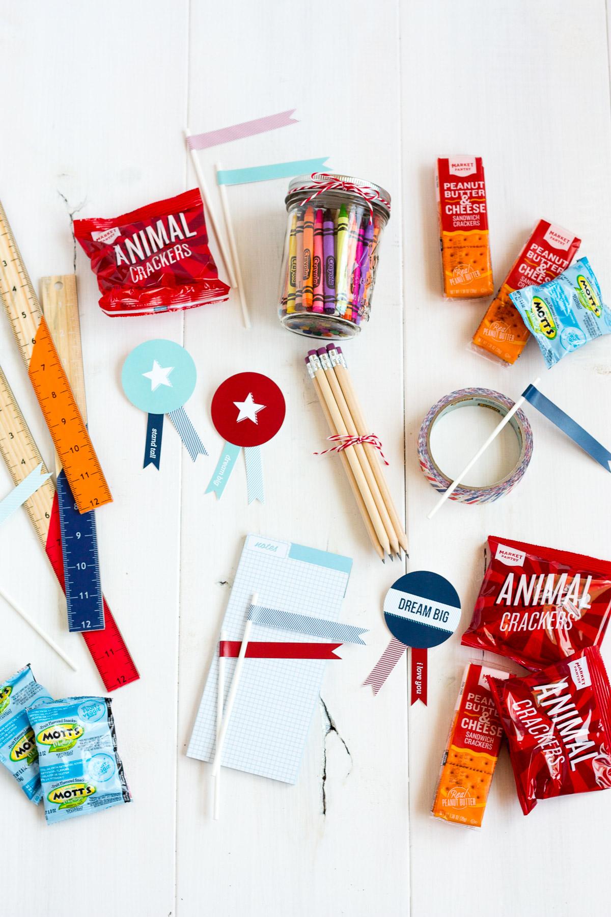 Back to School Care Package w/ FREE PRINTABLES! via @PagingSupermom